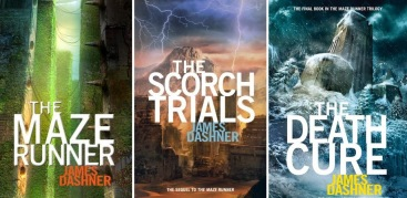 Image result for the maze runner trilogy