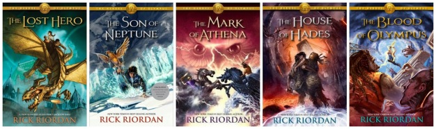 Image result for the heroes of olympus series