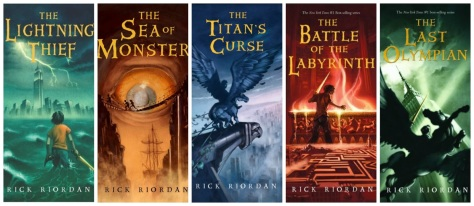 Image result for percy jackson and the olympians series