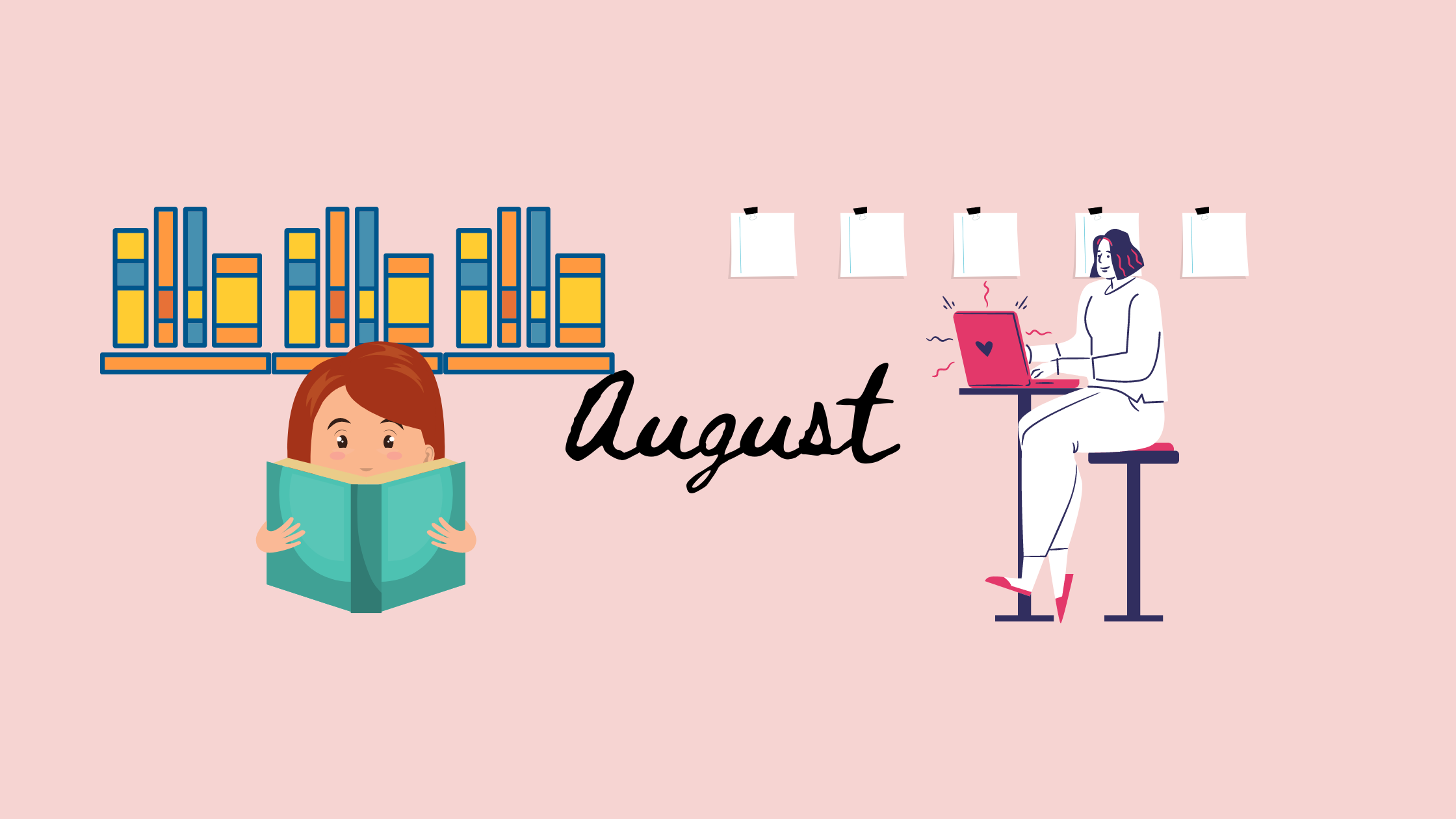 August Reading + Writing Goals